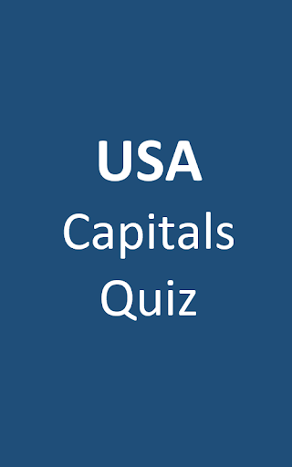USA Capitals Quiz