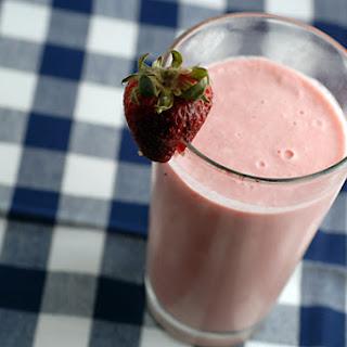 Strawberry Lime Shake