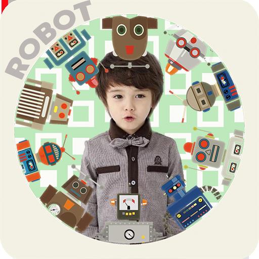 机器人相框 攝影 LOGO-阿達玩APP