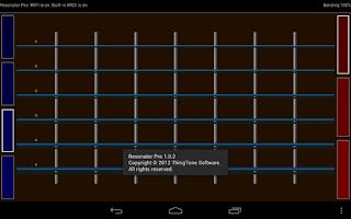 Screenshot of Resonator Pro - MIDI Guitar
