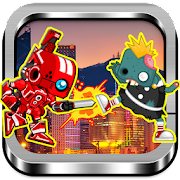 Game Red Rangers Robot VS Zombies apk for kindle fire