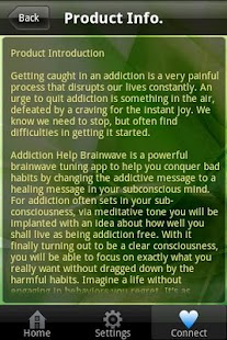 Addiction Help Brainwave- screenshot thumbnail