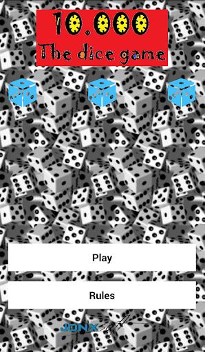 10000 Dice game