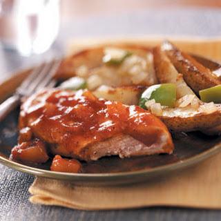 Applesauce Barbecue Chicken