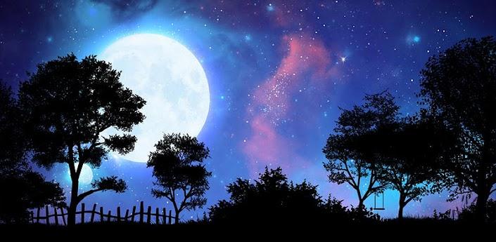 Скачать NightFall Live Wallpaper - живые обои с движущимся звездным небом