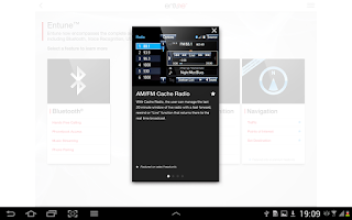 Screenshot of Entune Audio Simulator