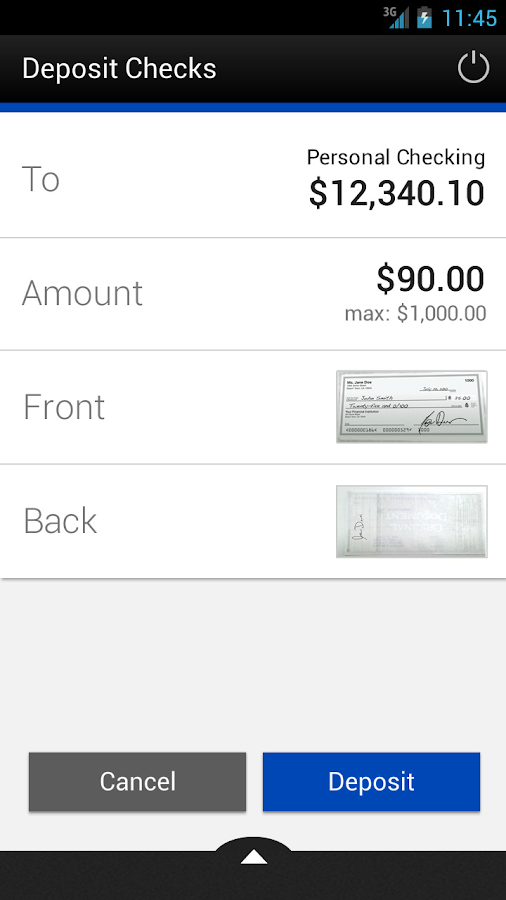 First National Bank Mobile - screenshot