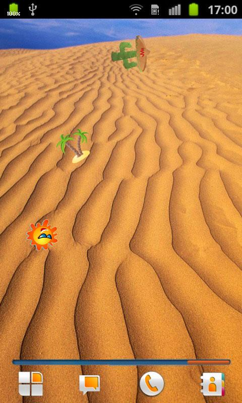 Desert Live Wallpaper - screenshot