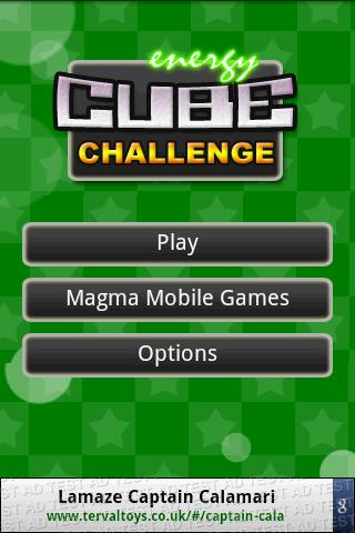 Cube Challenge- screenshot