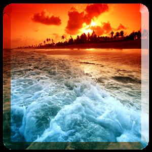 海洋的动态壁纸 個人化 App LOGO-APP試玩