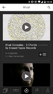 Playmoss: The Playlists Home: miniatura de captura de pantalla