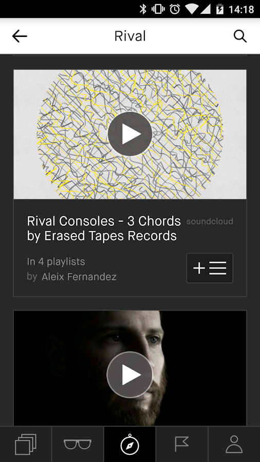 Playmoss: The Playlists Home: captura de pantalla