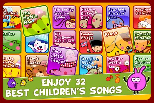 無料教育Appのおやこでリズムパーティー:英語童謡 記事Game