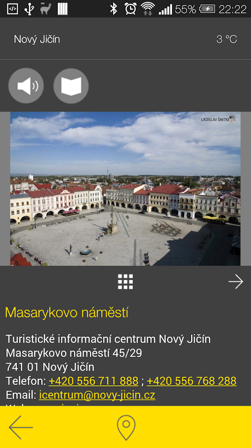 Nový Jičín - audio tour- screenshot