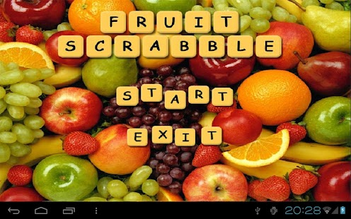 Fruit Scrabble Free - screenshot thumbnail