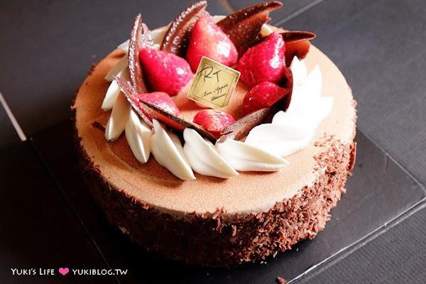 甜點【新竹RT蛋糕】【Amo阿默●瑞士古典醇黑巧克力】好吃! 我的生日蛋糕