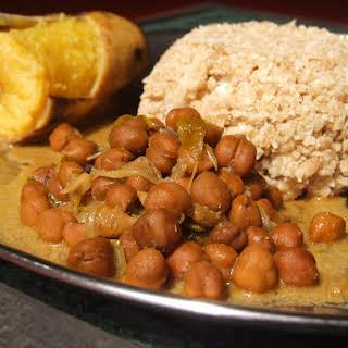 Chickpea Curry (Kadala Curry).
