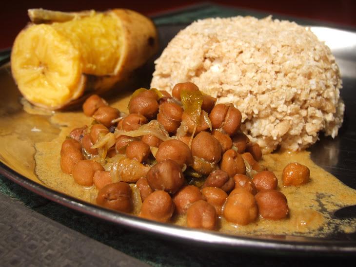 Chickpea Curry (Kadala Curry) Recipe