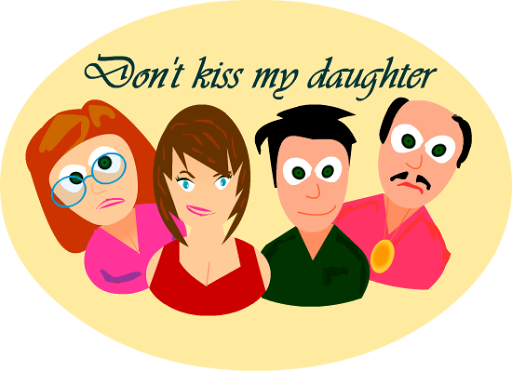 Don't Kiss my daughter