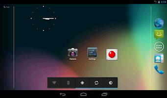 Screenshot of Data ON-OFF Widget