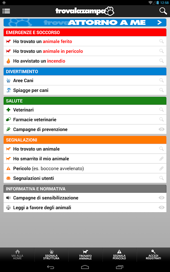 trova LA zampa- screenshot