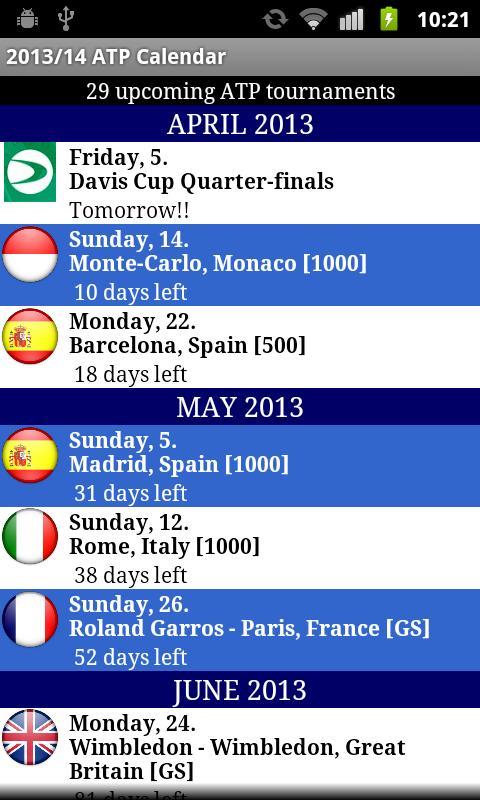 2014 ATP WORLD TOUR - screenshot