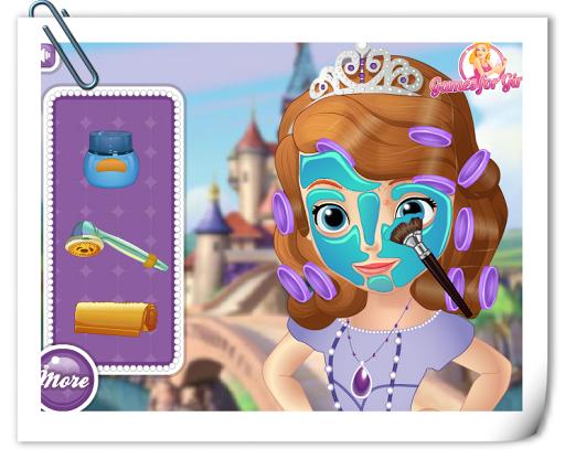 寶貝公主第一次化妝
