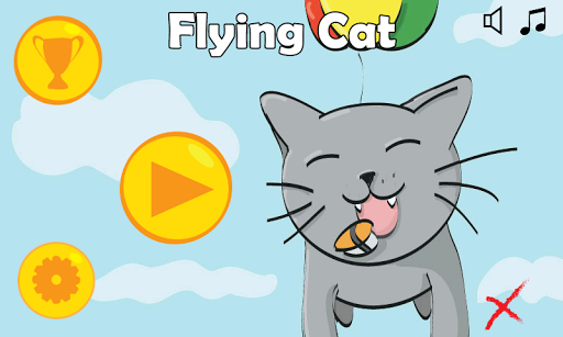 【免費街機App】Flying cat-APP點子