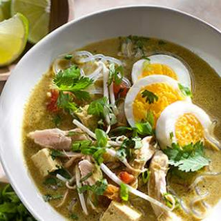 Singapore-Style Chicken & Noodle Soup.