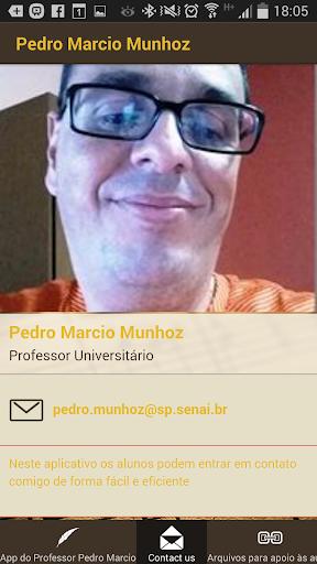APP do Professor Pedro Marcio