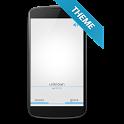 White ICS Theme - BIG caller icon