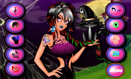 玩免費模擬APP 下載Juegos de Vestir Chicas Gotica app不用錢 硬是要APP