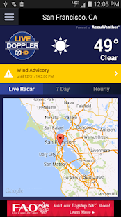ABC7 Weather: SF/Bay Area - screenshot thumbnail