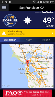 ABC7 Weather: SF/Bay Area - screenshot