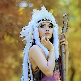 indian unyu2... by Andi Irawan - People Fashion