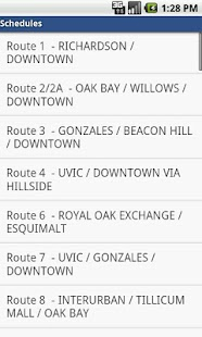 BCBus - BC bus schedules - screenshot thumbnail