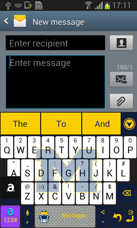 Michigan Keyboard - screenshot