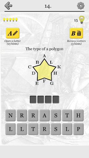 Geometric Shapes: Triangles & Circle Geometry Quiz 2.0 screenshots 5