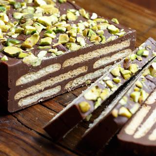 Kiksekage - Chocolaty Biscuit Cake.