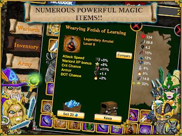 Warlords RTS: Strategy Game Screenshot 11