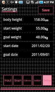 SCALES weight management - screenshot thumbnail