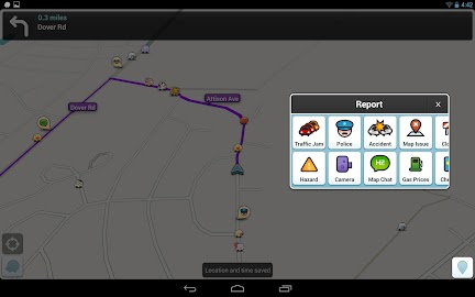Waze Social GPS Maps & Traffic Screenshot 4