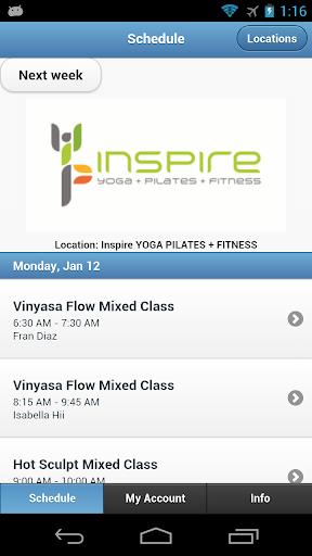 Inspire Yoga+Pilates+Fitness