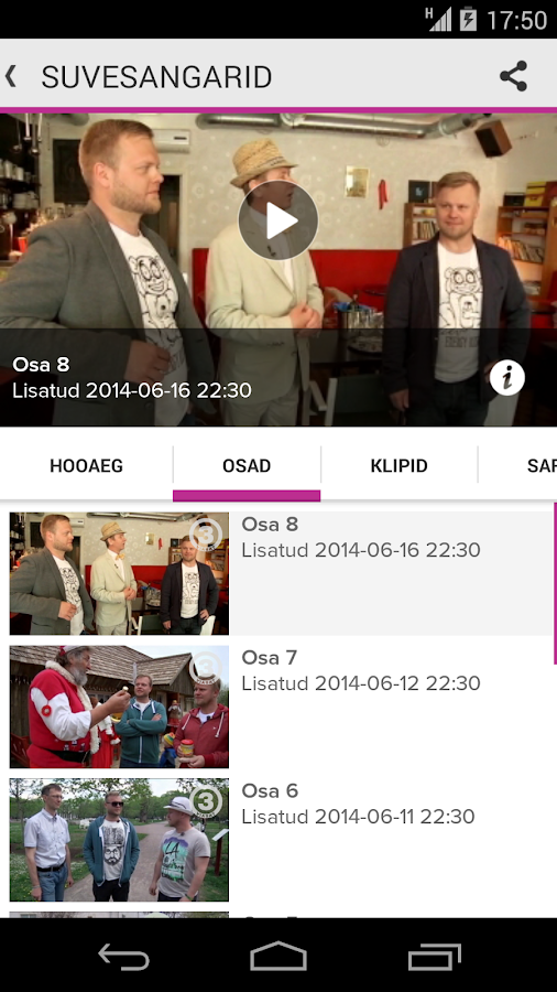TV3 Play - Eesti- screenshot