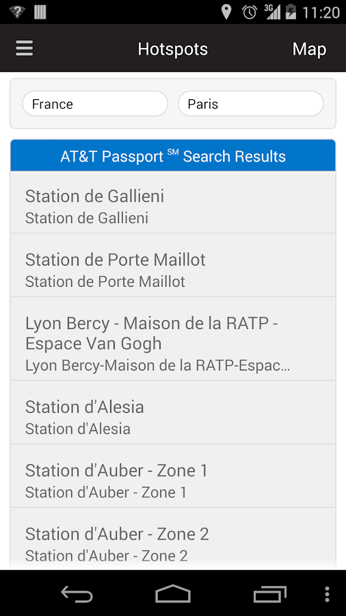 AT&T Passport℠- screenshot