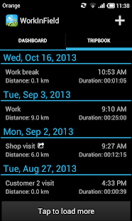 Mileage LogBook & GPS Tracker - screenshot thumbnail