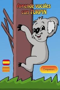 Aprende Vocales con Turpín: miniatura de captura de pantalla