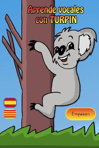 Aprende Vocales con Turpín: captura de pantalla