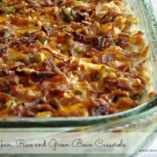 Chicken And Rice Casserole With Green Beans Recipes.