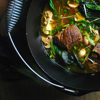 Taiwanese Short Rib and Bok Choy Stew